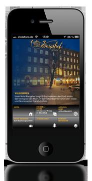 Info Networking GmbH - Hotel Königshof Easy App