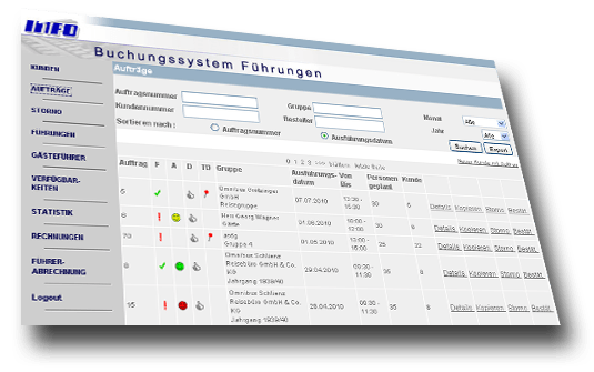 Info Networking GmbH - Touristisches Gästeführersystem