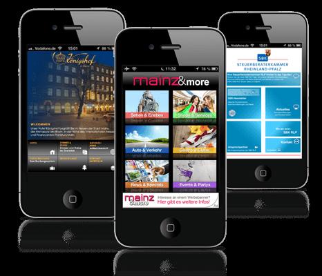 App-Entwicklung der Info Networking GmbH