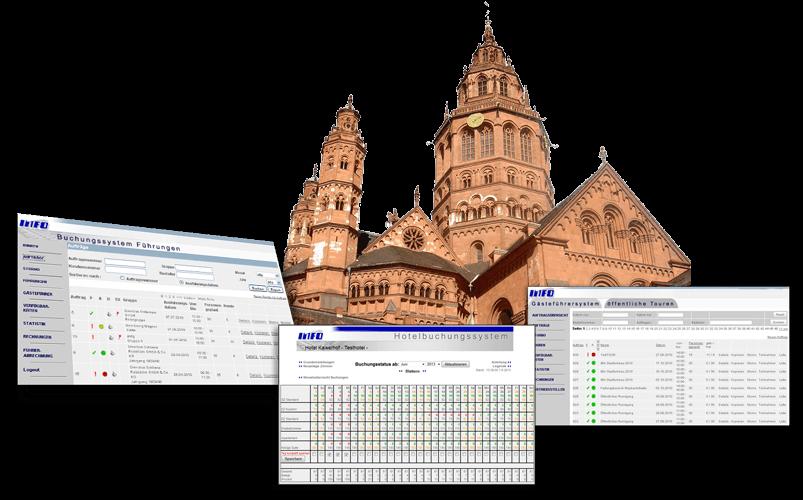 Touristik-Lösungen der Info Networking GmbH